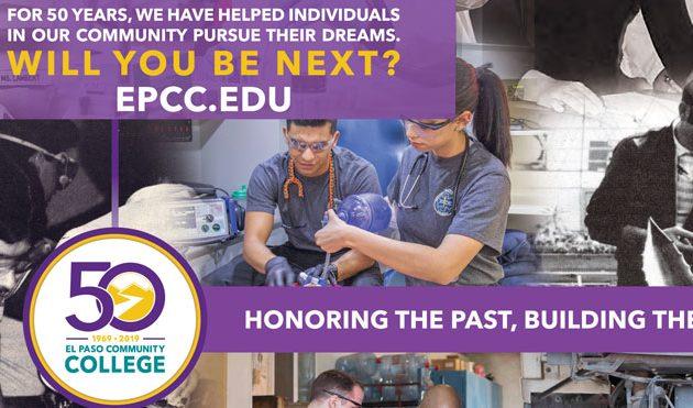 EL PASO COMMUNITY COLLEGE:  HONORING THE PAST, BUILDING THE FUTURE