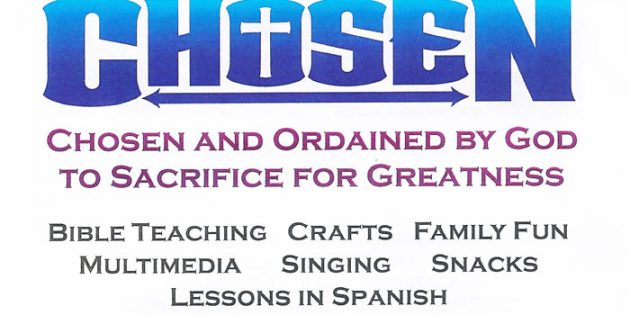 11TH ANNUAL, FAMILY Bible Camp july 15th – 19th