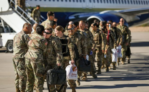 Field Hospital Retuns to Bliss after first  deployment