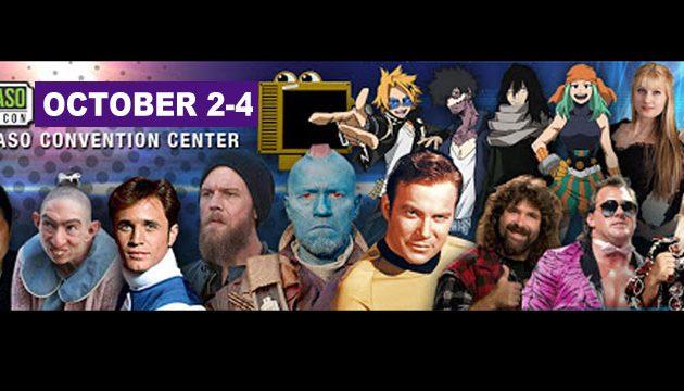 El Paso Comic Con 2020. OCTOBER 2-4