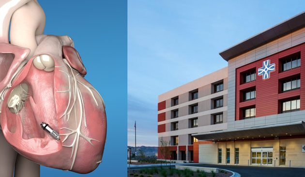 The Hospitals of Providence Sierra Campus First Hospital in El Paso to Offer the  World's Smallest Pacemaker Which Can Now Treat AV Block