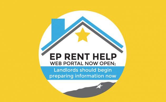EP Rent Help Web portal now open; Landlords should begin preparing information now