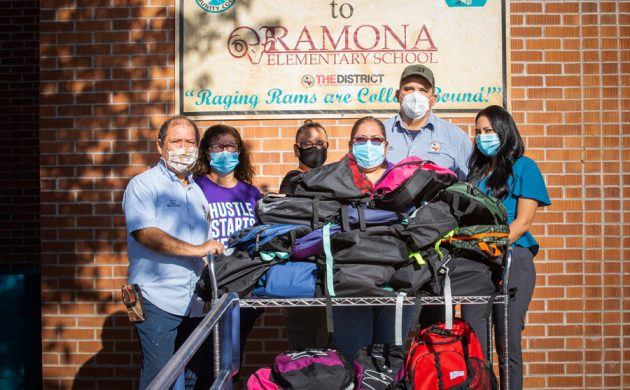 EPCC CARES: Service Learning Program 'School Store' Delivers Supplies to Area Students