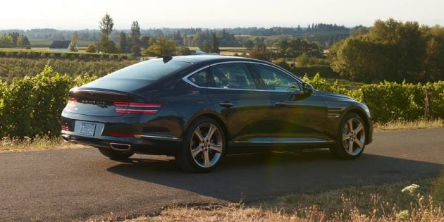 Making a statement – the all-new 2021Genesis G80