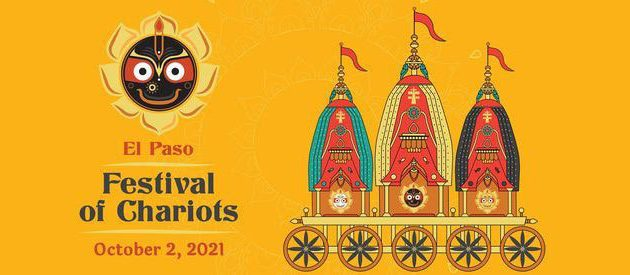 El Paso to host Festival of Chariots, all are invited the experience  Indian tradition, food and culture