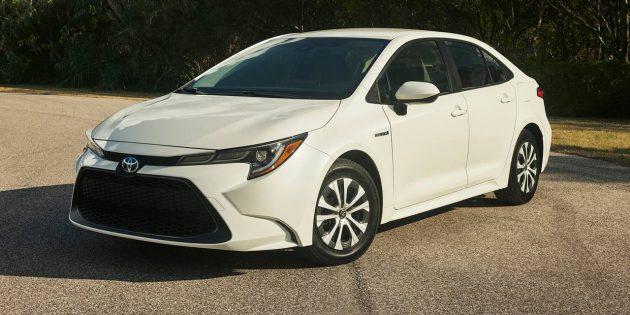 Fuel-miser!  The 2022 Toyota Corolla Hybrid
