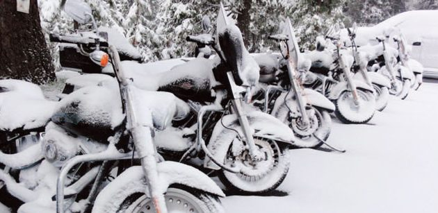 9 Steps to Winterize your Motorcycle for Winter Storage