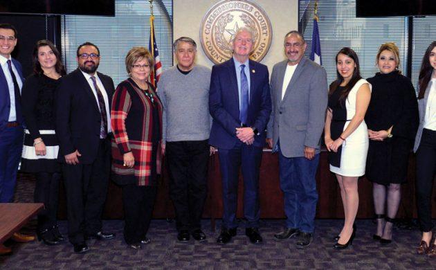 County Judge Ricardo A. Samaniego Convenes Meeting with Rural Mayors