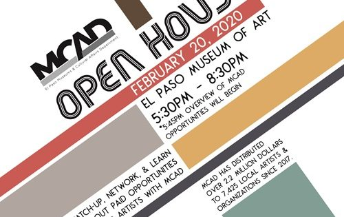 Museums and Cultural Affairs Department to Host Open House to Share Artist Opportunities