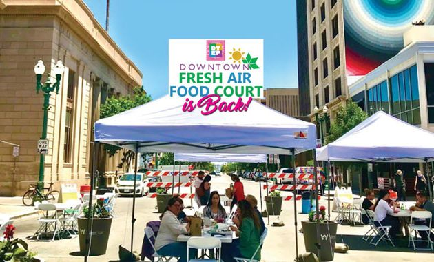 Downtown Fresh Air Food Court is Back!