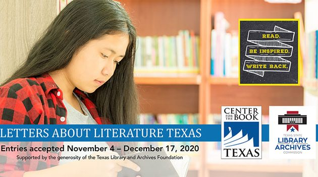 Students Invited to Participate in 2020-2021 Letters About Literature Texas Competition