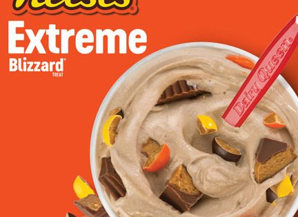 AUGUST BLIZZARD OF THE MONTH – REESE'S EXTREME BLIZZARD TREAT AT TEXAS DQ LOCATIONS!